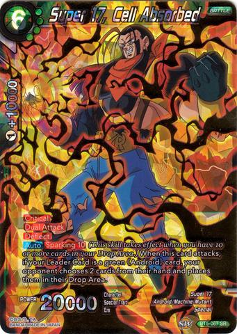 Super 17, Cell Absorbed - BT5-067 - SR
