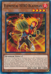 Elemental HERO Blazeman - LEHD-ENA16 - Common - 1st Edition