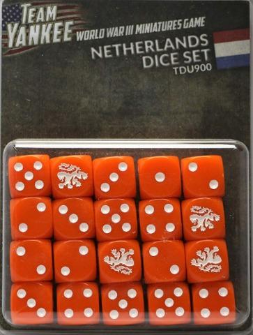 Netherlands Dice Set
