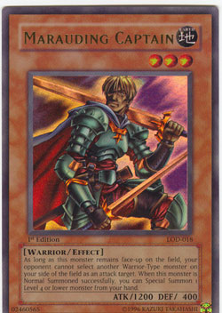 Marauding Captain - LOD-018 - Ultra Rare - 1st Edition