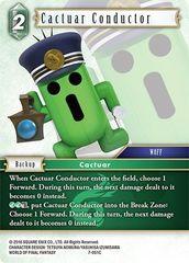 Cactuar Conductor - 7-051C