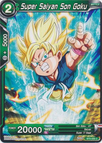 Super Saiyan Son Goku Green Bt5 056 C Dragon Ball Super