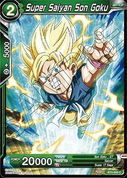 Super Saiyan Son Goku (Green) - BT5-056 - C - Foil