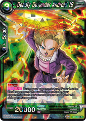 Deadly Defender Android 18 - BT5-065 - R
