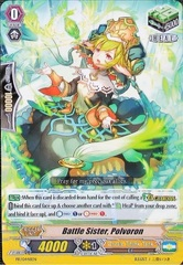 Battle Sister, Polvoron - PR/0448EN - PR on Channel Fireball
