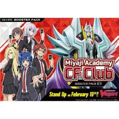 V Booster Set 03: Miyaji Academy Cardfight Club Booster Pack