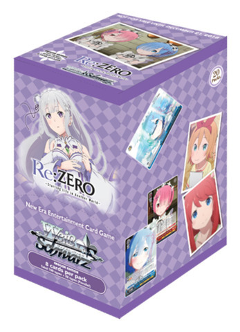 Re:Zero Starting Life In Another World Booster Box