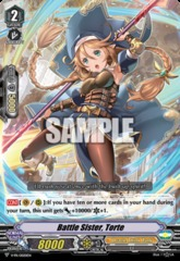 Battle Sister, Torte - V-PR/0020EN - PR on Channel Fireball