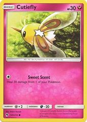 Cutiefly - 145/214 - Common on Channel Fireball