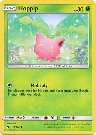 Hoppip  - 11/214 - Common