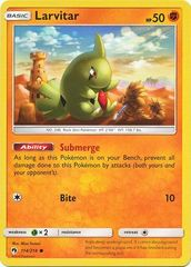 Larvitar - 114/214 - Common on Channel Fireball