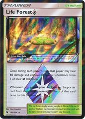 Life Forest [Prism Star] - 180/214 - Holo Rare on Channel Fireball