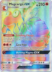 Magcargo GX - 218/214 - Secret Rare on Channel Fireball