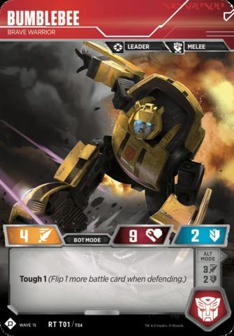 Bumblebee // Brave Warrior