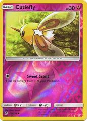 Cutiefly - 145/214 - Common - Reverse Holo on Channel Fireball