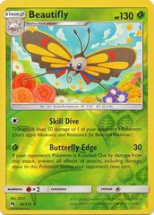 Beautifly - 26/214 - Rare - Reverse Holo