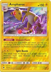 Ampharos - 78/214 - Reverse Holo