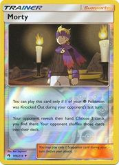 Morty - 186/214 - Uncommon - Reverse Holo