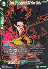 Twin Onslaught SS4 Son Goku - BT5-055 - SPR