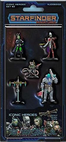 Starfinder RPG Miniatures: Iconic Heroes Set #2