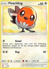 Fletchling - 11/30 - Common