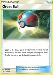 Great Ball - 25/30 - Common - Lycanroc Deck