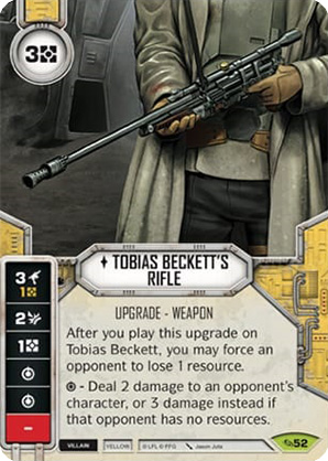 Tobias Becketts Rifle