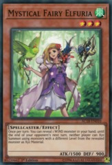 Mystical Fairy Elfuria - AC18-EN010 - Super Rare - 1st Edition