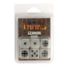 Tanks - German Dice Set (6)