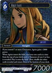 Agrias - 7-106L - Foil on Channel Fireball
