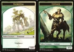 Centaur // Elemental Token