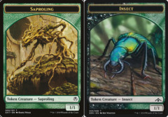 Saproling Token // Insect Token
