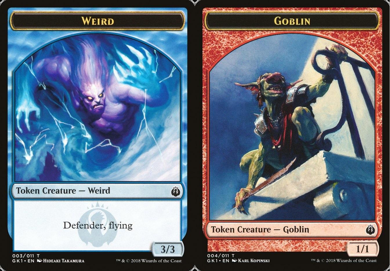 Weird // Goblin Token
