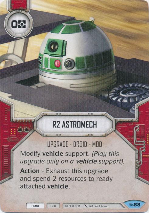 R2 Astromech - Star Wars Destiny » Accross the Galaxy