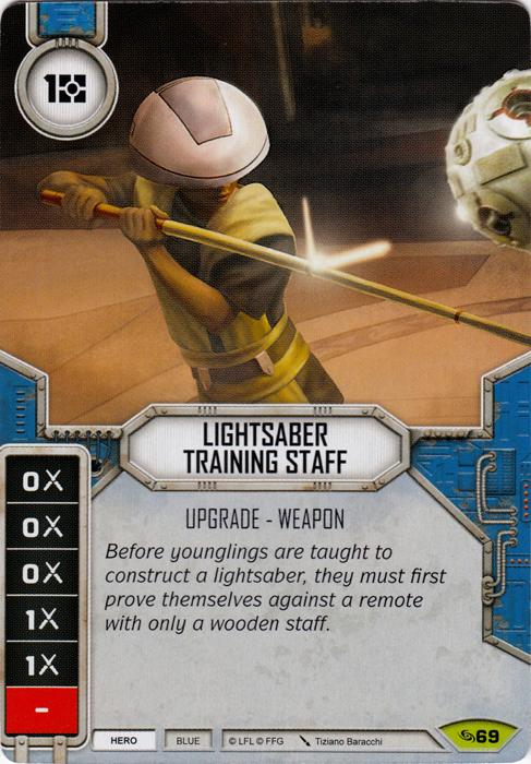 Lightsaber Training Staff