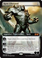 Karn Liberated - Foil on Channel Fireball