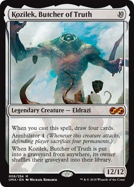 Kozilek, Butcher of Truth - Foil