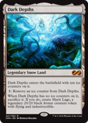 Dark Depths - Foil on Channel Fireball