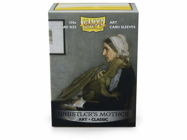 Dragon Shield - 100 Standard Size - Whistlers Mother