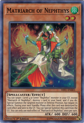 Matriarch of Nephthys - HISU-EN001 - Super Rare - 1st Edition