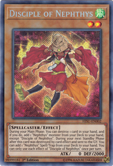 Disciple of Nephthys - HISU-EN002 - Secret Rare - 1st Edition
