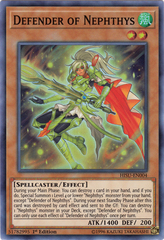 Defender of Nephthys - HISU-EN004 - Super Rare - 1st Edition