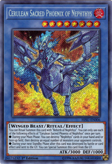 Cerulean Sacred Phoenix of Nephthys - HISU-EN006 - Secret Rare - 1st Edition