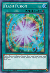 Flash Fusion - HISU-EN057 - Super Rare - 1st Edition