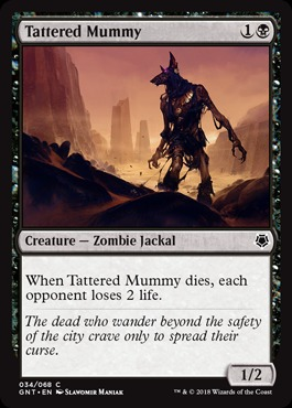 Tattered Mummy