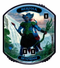 Ultra Pro - Relic Tokens: Lineage Collection - Merfolk (Hexproof)