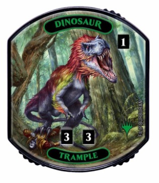 Ultra Pro - Relic Tokens: Lineage Collection - Dinosaur (Trample)