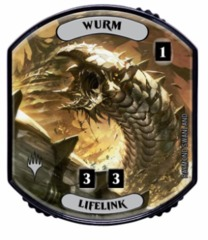 Ultra Pro - Relic Tokens: Lineage Collection - Wurm (Lifelink)