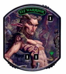 Ultra Pro - Relic Tokens: Lineage Collection - Elf Warrior - Foil