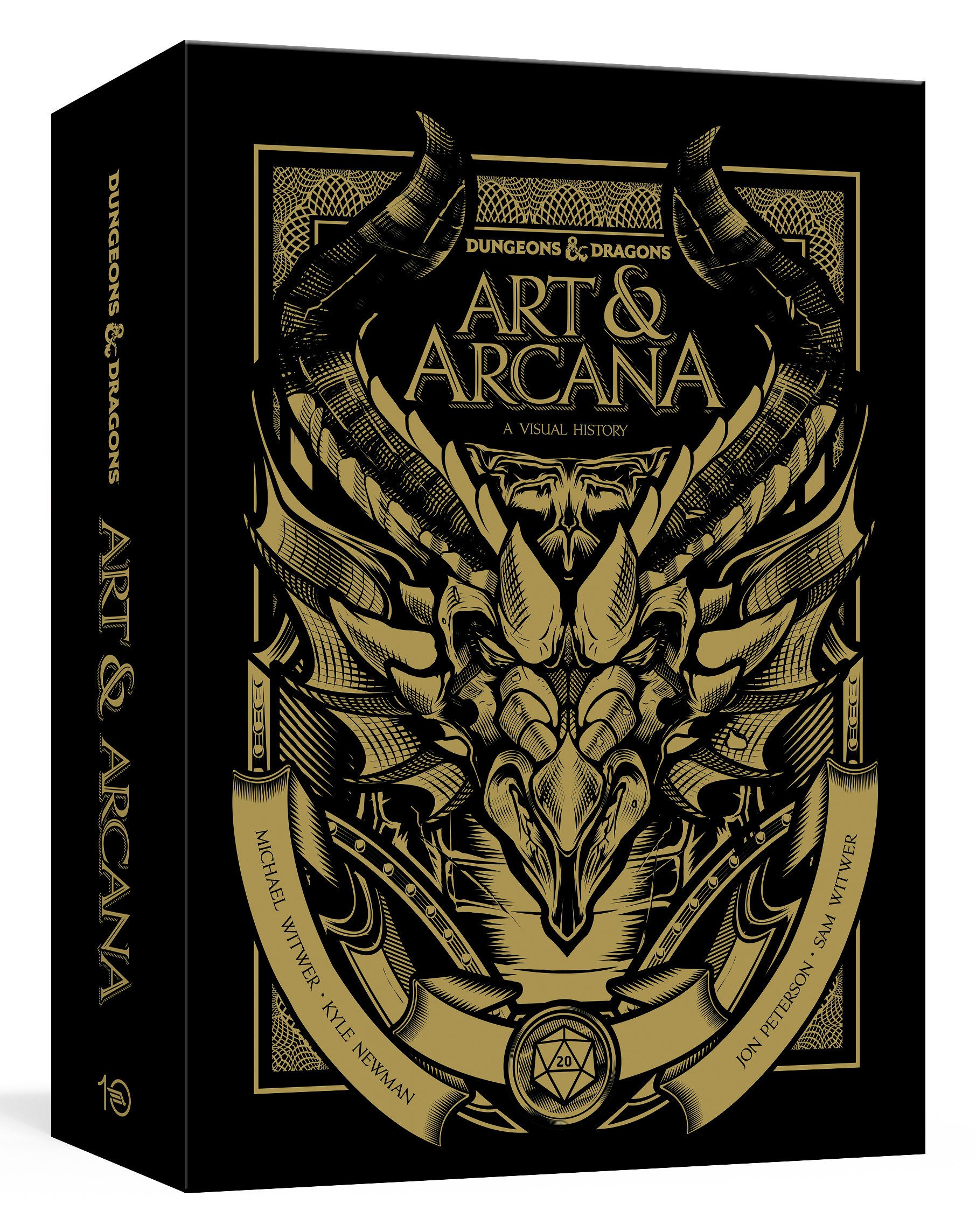 Dungeons and Dragons Art and Arcana [Special Edition, Boxed Book & Ephemera Set]: A Visual History